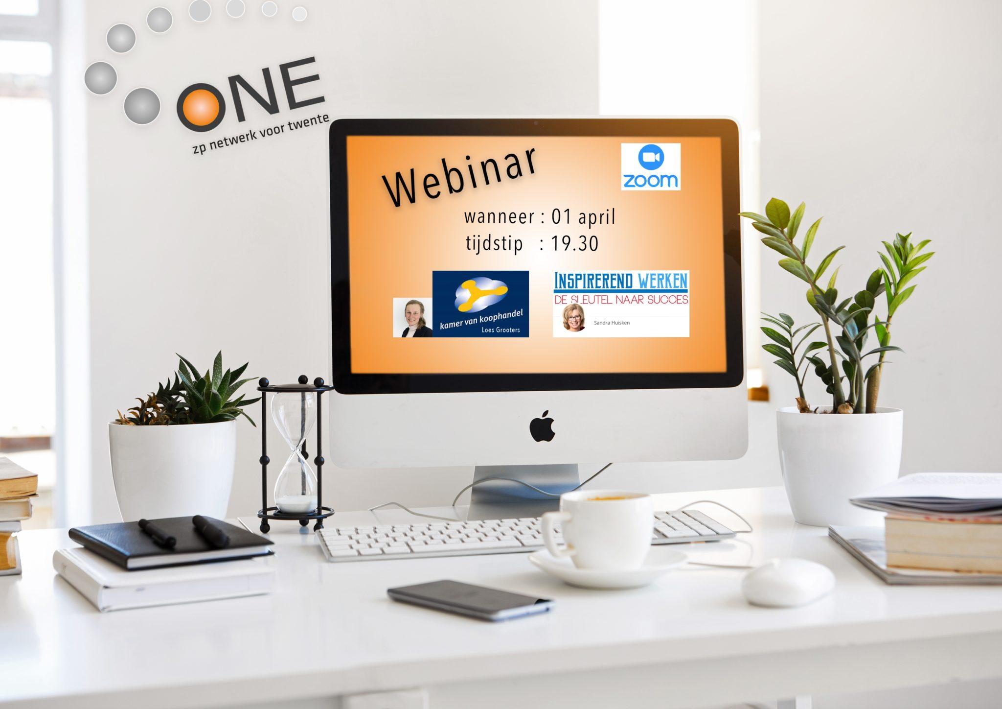Online bijeenkomst over vertrouwen én tips Kamer van Koophandel