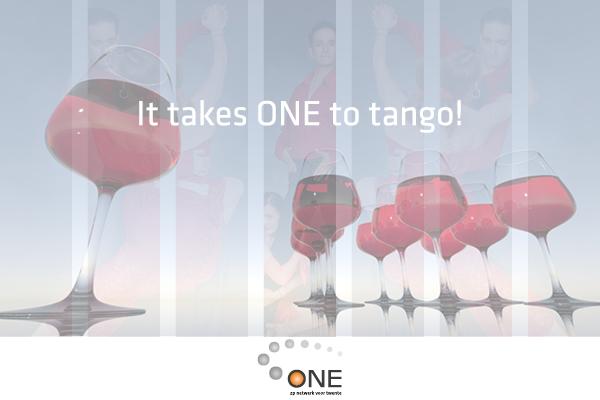 It takes ONE 2 Tango