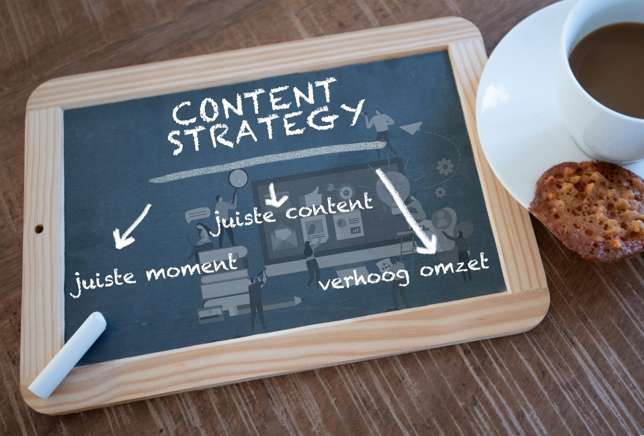 Content kalender: Je omzet omhoog door de juiste content op het juiste moment - GEANNULEERD