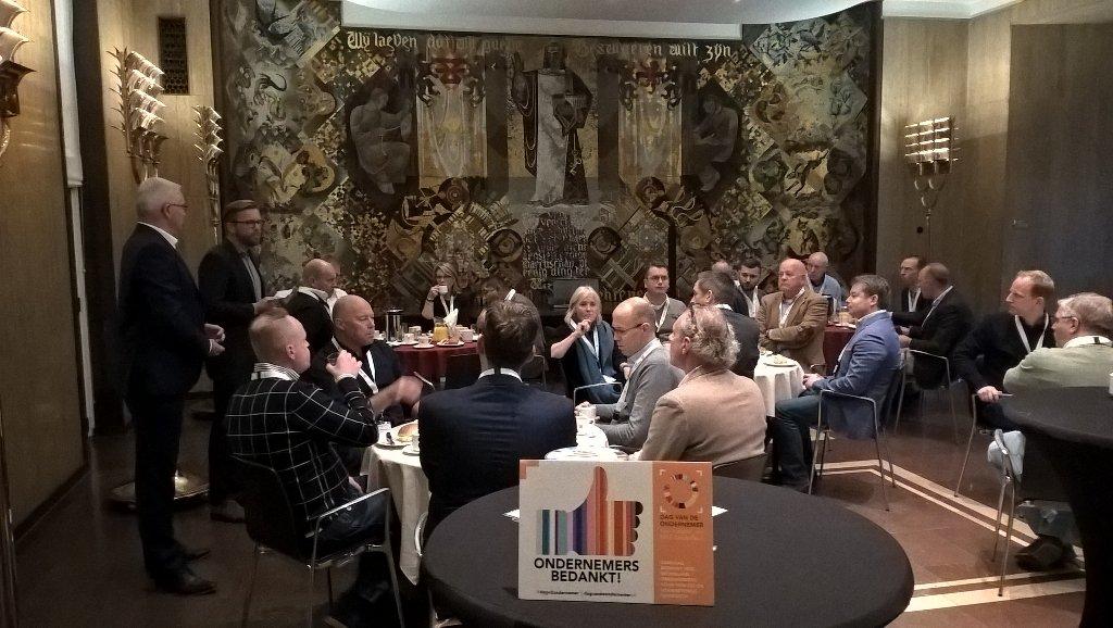 Dag van de Ondernemer: netwerkontbijt met gemeente
