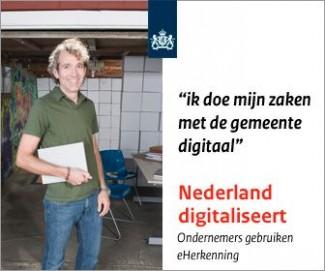 Ondernemers regelen hun zaken bij de gemeente Enschede voortaan ook online