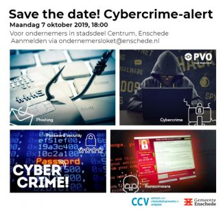 Ondernemers, save the date! Cybercrime-alert!